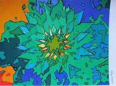 "Saatchi Art Artist Raquel Sarangello; Drawing, ""FLOWERS"" #art"