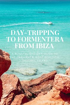 Day-Tripping to Formentera from Ibiza A Blissful One-Day Guide to the Smallest & Most Beautiful Balearic Island - Driftwood Journals Formentera Spain, Ibiza Spain, Ibiza Travel, Spain Travel, Ibiza Trip, Ibiza Beach Club, Ibiza Island, Beach Hacks, Balearic Islands