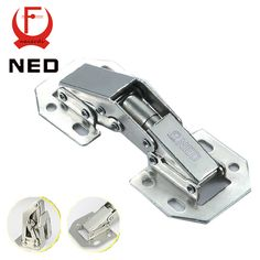 NED-A100 4 Inch 90 Degree No-Drilling Hole Cabinet Hinge Bridge Shaped Spring Frog Hinge Full Overlay Cupboard Door Hinges - ICON2 Luxury Designer Fixures  NED-A100 #4 #Inch #90 #Degree #No-Drilling #Hole #Cabinet #Hinge #Bridge #Shaped #Spring #Frog #Hinge #Full #Overlay #Cupboard #Door #Hinges