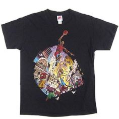 4897602a265c Vintage Nike Michael Jordan Pick Up Game T-shirt