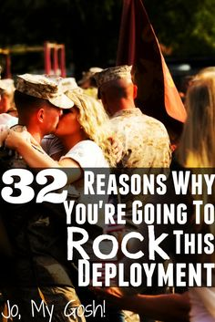 32 Reasons Why You're Going to Rock This Deployment, cute list! Keep for inspiration later