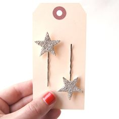 tiny starlette bobby pins by giant dwarf
