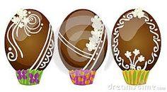 Risultati immagini per uova di cioccolato decorate