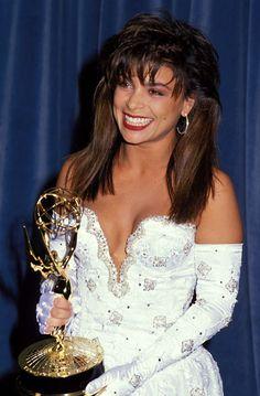Paula Abdul at the Emmy Awards, 1989