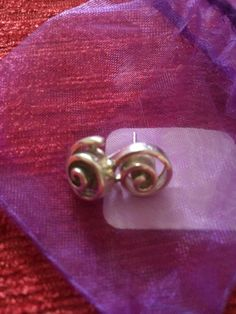 Vintage hallmarked silver earings by suffolkoddsandends on Etsy
