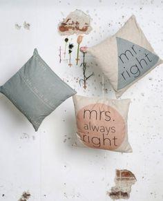 Stijl Studio Marsala   Sierkussen Mrs Right   Eijerkamp   #wooninspiratie #woonidee #woontrends #woonaccessoires