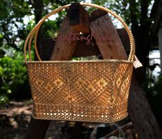Big sz., Macrame, Basket, Rope,Handmade, in Natural colors ,Storage,Picnic,Outdoor,Kitchen,Living room,Gift basket