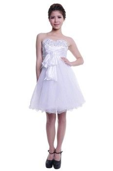 White Homecoming Dresses Under 50
