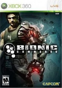 Bionic Commando for XBOX Had to buy it. Mike Patton does the voice for the Bionic Commando. Awesome game once you get the hang of the robotic arm. Wii, Playstation, Videogames, Spiderman, Sony, Video Game Collection, Latest Video Games, Xbox 360 Games, Arcade Games