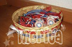 Llaveritos Capitán América gran recuerdo para tu gran evento.