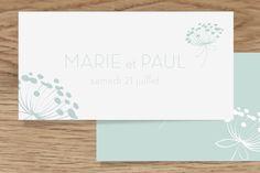 étiquette de mariage envolée by Mr & Mrs Clynk pour www.rosemood.fr #mariage #wedding #étiquette
