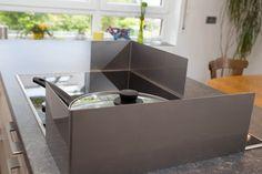 details zu spritzschutz aus glas 9 farben glasr ckwand k che herd wand ceran induktion. Black Bedroom Furniture Sets. Home Design Ideas