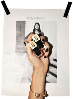 YSL manicure