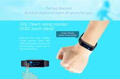 Teclast Smart Wristband, Special Offer from Gearbest Remote Camera, Smart Watch, Fitbit, Coupons, Gadgets, Smartwatch, Coupon, Gadget