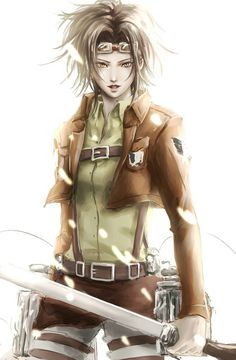 Get your favorite Attack on Titan season 2 characters here. So just check on your favorite characters and enjoy. Attack On Titan Season 2, Attack On Titan Fanart, Attack On Titan Funny, Attack Titan, Armin, Hanji And Levi, Fanarts Anime, Anime Characters, Connie Springer