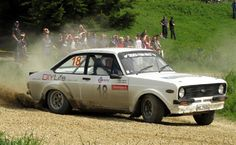 Ford Escort RS1600 Rally Car......umm yes please!!!