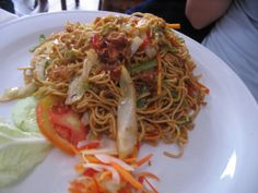 This was a favorite in the hostel that I lived in and we were lucky enough to have the real stuff in Indonesia. You can just buy the 20cent ramen packets and not use the flavorings. That works just fine, and I recommend the eggs more than the tofu... but whatever floats your boat.