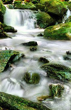 Pretty Waterfall - Great Photo !