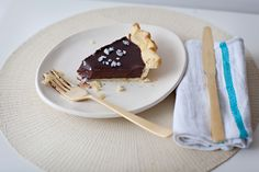 chocolate and lavender pie!