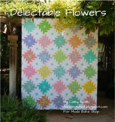 Delectable Flowers Quilt « Moda Bake Shop