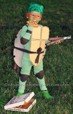 Coolest Michaelangelo Ninja Turtle Costume