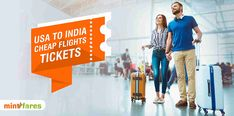 Book USA to India cheap flights at affordable range. Mintfares is providing money-saving deals to explore your favorite spot. Hurry up limited offers available. Book Cheap Flight Tickets, Cheap Tickets, Cheap Flights To India, Best Flight Deals, Best Flights, Price Book, Saving Money, Range, Explore
