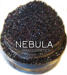 Nebula Galactic Collection Galaxy Red Pink Black Glitter Eyeshadow Mica Pigment 10 Grams Lumikki Cosmetics on Etsy, $12.00