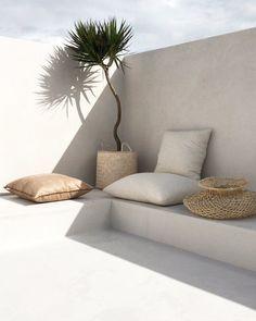 Ideas For Apartment Patio Wall Outdoor Spaces Backyard Seating, Garden Seating, Outdoor Seating, Backyard Patio, Outdoor Decor, Backyard Beach, Backyard Shade, Outdoor Cafe, Terrace Garden
