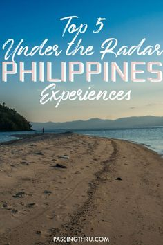 Undiscovered beautiful places in the Philippines are found throughout the country. Go off the beaten path and discover 5 underrated Philippines destinations that not even many Filipinos have seen. #Philippines #Travel #TravelTips #TravelDestinations #TravelWriter #Asia