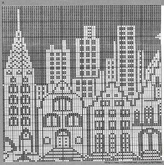 San Francisco x-stitch