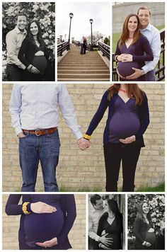 Urban Maternity Session | Milwaukee Wisconsin Couples & Maternity Portrait Photographer | Photography by Danielle