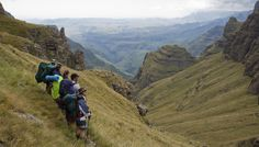 Six challenging wilderness hikes in South Africa Sa Tourism, Countries Of The World, Biking, Wilderness, South Africa, Trail, Old Things, Challenges, Mountains