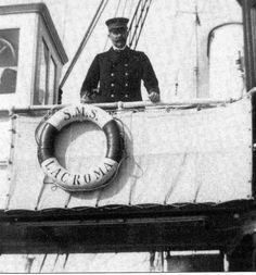 Franz Ferdinand an Bord Admiralsyacht Lacroma, 1914