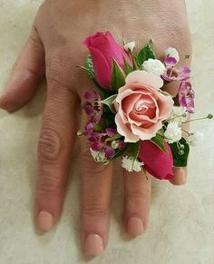 Amazing flower corsage for wedding (42)