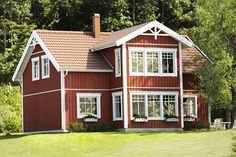 Kungshus Tjörn - hus i sekelskiftesstil - Anebyhusgruppen Scandinavian Home, Country Style, Future House, My Dream, Sweet Home, Shed, New Homes, Outdoor Structures, House Styles