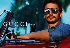 James Franco. Gucci.