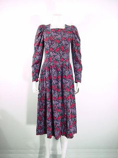 Laura Ashley Vintage Dress. How I miss this style! I used to live in Laura Ashley dresses in the '80s