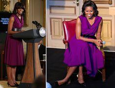 flotus gets gorgeous in green mrs obama fashions pinterest