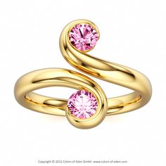 Pink Sapphire Ring Unison