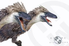 by Mike Milbourne All Dinosaurs, Jurassic World Dinosaurs, Jurassic Park World, Dinosaur Fossils, Dinosaur Art, Feathered Dinosaurs, Real Monsters, Extinct Animals, Prehistoric Creatures