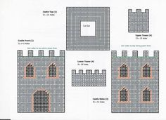 Castle Tissue Box Cover 3/3 http://amzn.to/2qWZ2qa
