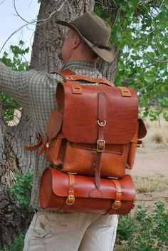 Picture of Leather Rucksack