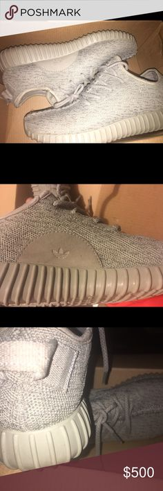 Yeezy 350 Boost 8/10 condition. Worn a few times. Moonrock. Authentic. Have additional pics if requested Adidas Shoes Athletic Shoes