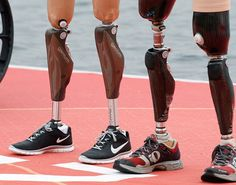 "The 2012 Summer Paralympics || A small glimpse of these inspirational ""superhuman"" athletes. Click image for more"