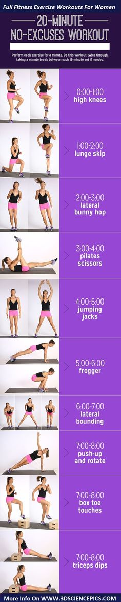 Muscle, Burn Calories: Printable Cardio-and-Strength Workout 20 minute no equipment workout. This workout is quick and effective and mixes classic cardio moves with bodyweight strength-training exercises to burn calories and build muscle. Fitness Motivation, Fitness Workouts, At Home Workouts, Fitness Tips, Easy Workouts, Exercise Workouts, Fitness Humor, Workout Routines, Fitness Shirts