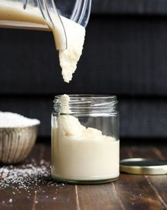 Homemade Coconut Butter has just one ingredient: coconut! It's easy to make at home in a food processor or high-powdered blender and can be used in TONS of ways - it's great as a spread on it's own an (Coconut Butter Uses) Coconut Recipes, Dairy Free Recipes, Vegan Recipes, Cooking Recipes, A Food, Good Food, Food And Drink, Different Recipes, Food Processor Recipes