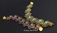 Tri Flowers Bracelet : Manek-Manek Beads - Jewelry   Kits   Beads   Patterns
