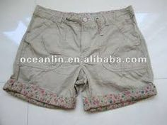 Resultado de imagem para bermudas femininas de tecido