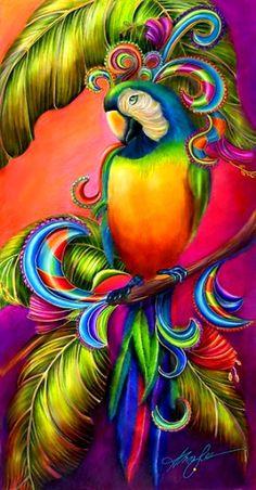 nak cube jadikan parrot ni sbg inspirasi..:)