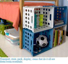 dorm room storage ideas | Home > Tips & Ideas > Seasonal > Back to College
